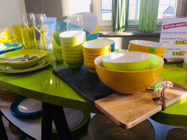 Geschirr von Wächtersbach in Trendfarben